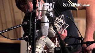 Large Diaphragm Condenser Mic Shootout on Acoustic Guitar