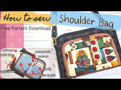 DIY:-Shoulder-Bag-วิธีทำกระเป๋