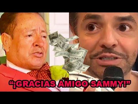 """Eugenio Derbez HEREDA TODA la fortuna de Sammy: """"gracias amigo, fuiste el mejor"""""""