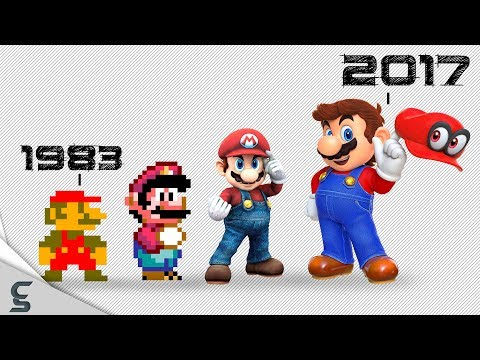 connectYoutube - The Great History of Mario w/ 65 Fun Facts!