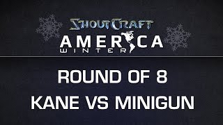 ShoutCraft America Winter - RO8 - mYinsanity.Kane vs. ROOTMinigun - BO5