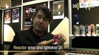 Radial Engineering 500-Series Modules API - AES '09