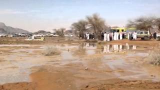 فيديو:غرق جيب شاص في حائل