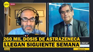 """Ministro de Salud: """"a fin de mes todos los adultos mayores de Lima estarán vacunados"""""""