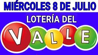 Resultados lotería del Valle 8 de Julio de 2020