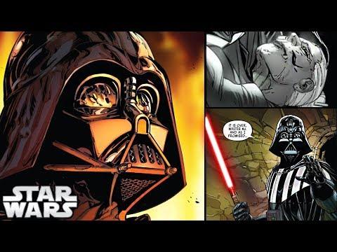 connectYoutube - Darth Vader KILLS Jocasta Nu!! (CANON) - Star Wars Comics Explained