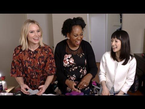 'Momsplaining with Kristen Bell' #SparkJoy with Marie Kondo, Ep. 6