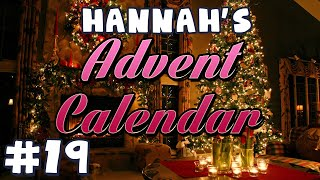 Hannah's Advent Calendar 2014 - Day 19