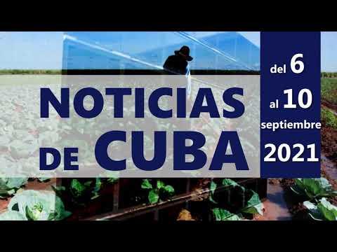NOTICIAS de CUBA (Resumen del 6 al 10 de septiembre)