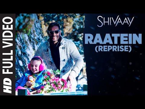 Raatein (Reprise) Lyrics - Shivaay | Ajay Devgn
