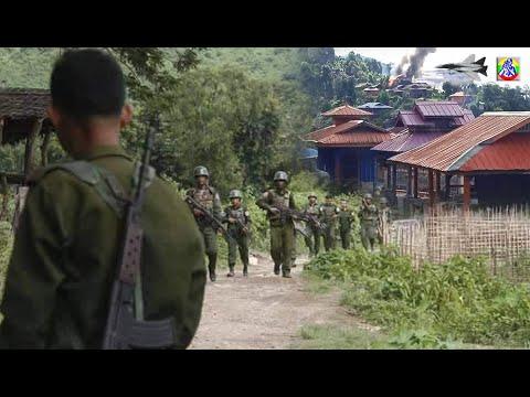 PDFดักจัดการทหารพม่าหลังบุกเข้