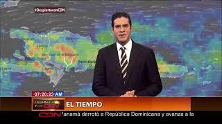 Vaguada continuará provocando aguaceros en RD; 10 provincias en alertas