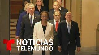 Cámara de Representantes entregan al Senado los artículos de juicio político   Noticias Telemundo