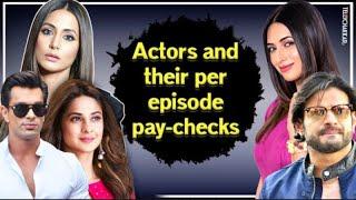 Hina Khan to Jennifer Winget | Television actor and their per episode pay-checks | TellyChakkar - TELLYCHAKKAR