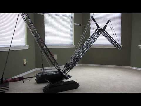 lego technic crawler crane 8288 instructions