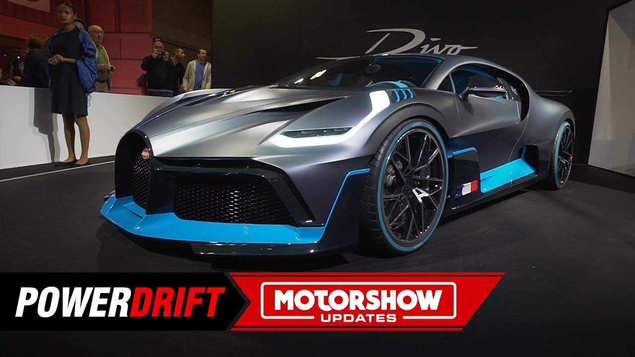 2018 Bugatti Divo : The Rs. 41 Crore hypercar : Paris Motorshow : PowerDrift