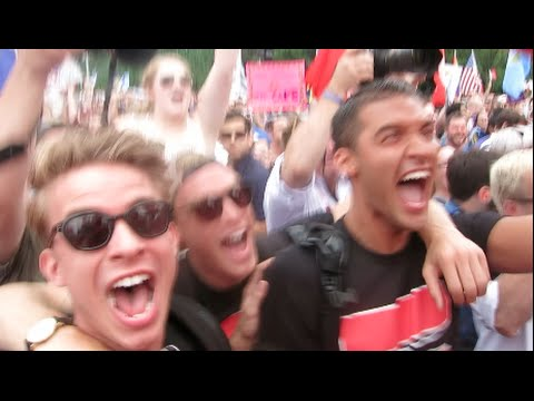 MARRIAGE EQUALITY LIVE REACTION AT SCOTUS