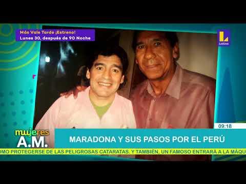 Maradona y sus pasos por el Perú (27-11-2020)