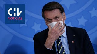 Bolsonaro informa que presenta síntomas de coronavirus