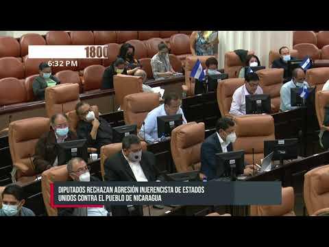 Asamblea Nacional de Nicaragua condena la actitud injerencista de Estados Unidos