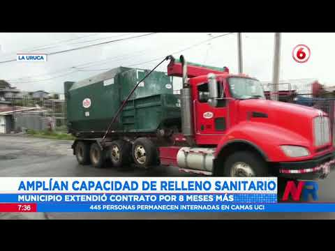 Salud autoriza capacidad de relleno sanitario en La Carpio