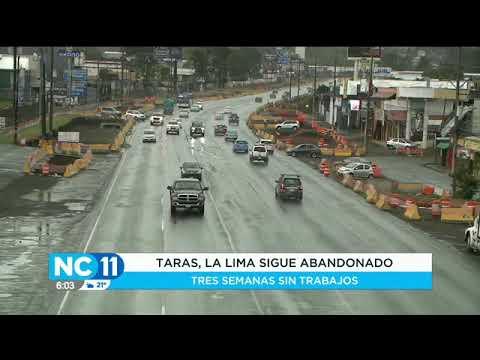 Obras en Taras y La Lima de Cartago continúan paralizadas