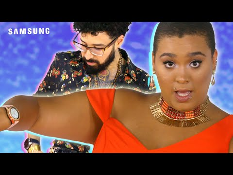 Jazz & Curly Give Each Other Red Carpet Makeovers // Presented by Samsung Mobile USA