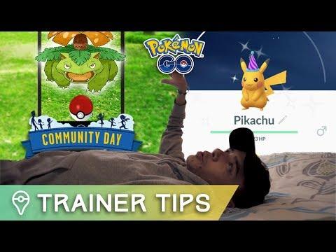 connectYoutube - BULBASAUR COMMUNITY DAY + POKÉMON DAY SHINY PIKACHU IN POKÉMON GO!