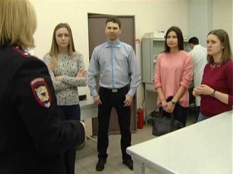«Cтуденческий десант» посетил экспертно-криминалистический центр УМВД России по Томской области