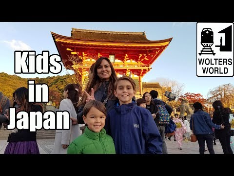 Visit Japan: Advice for Traveling with Children in Japan