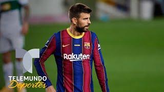 Koeman habla sobre los palos de Piqué a la directiva del Barcelona | Telemundo Deportes