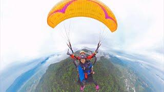 360度全景影片-飛行傘
