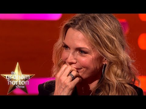 Michelle Pfeiffer Reacts to Being Mentioned in Uptown Funk | The Graham Norton Show