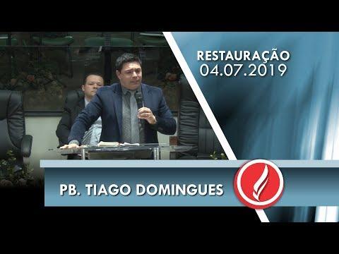 Pb. Tiago Domingues   Se humilhando na presença do Senhor   Juízes 6.1   04 07 2019