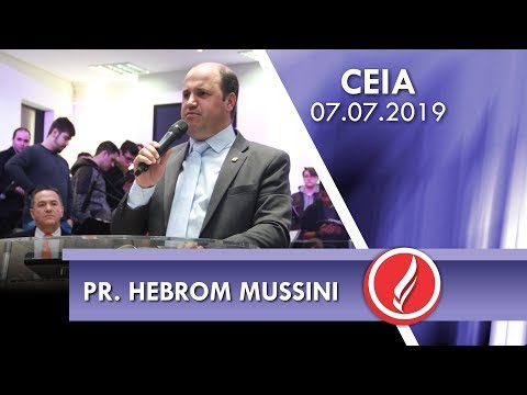 Pr. Hebrom Mussini   Refletir Jesus em nós   João 15.15   07 07 2019