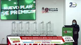 Lotería de Boyacá SORTEO 4329 - 19 Septiembre 2020