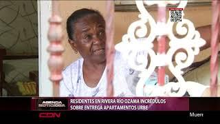 Residentes en rivera río Ozama incrédulos sobre entrega apartamentos URBE