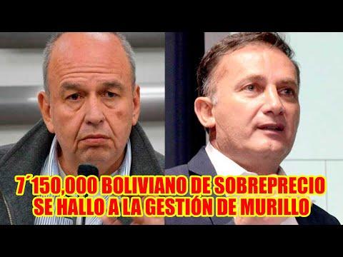 MINISTRO DE GOBIERNO INFORMÓ QUE H4LLO SOBREPRECIO EN LA COMPRA DE GASES LACRIMÓGENOS  A MURILLO..