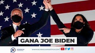 Joe Biden GANA elecciones de Estados Unidos, es el nuevo PRESIDENTE