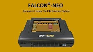 Falcon-NEO ファイル閲覧の手順
