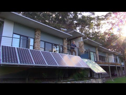How a Solar Active Passive Sustainable House works
