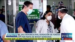 ASJ denuncia malversación de fondos por parte de INVEST Honduras
