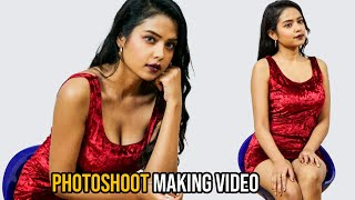 GST Movie Heroine Swathi Mandal Photoshoot Video | Telugu Actress Hot Photoshoot Making | TFPC - TFPC