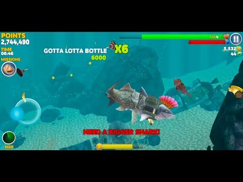 Hungry Shark Evolution Android Gameplay #24