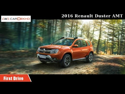2016 Renault Duster AMT | First Drive | CarDekho.com