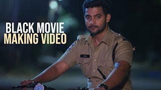 "Hero Aadi Sai Kumar ""Black"" Movie Making Video | Mahankali Movies - TFPC"