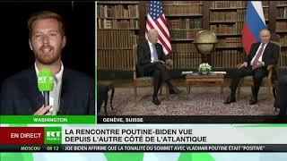 Sommet Biden/Poutine : «Les démocrates sont dithyrambiques à propos de leur président»
