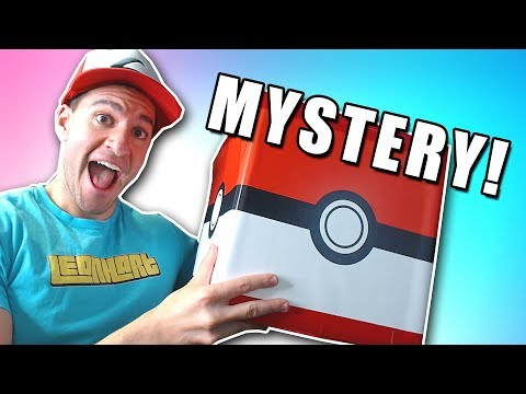 OPENING POKEBALL MYSTERY BOX!