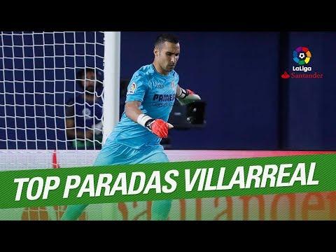 TOP 5 Saves Villarreal CF LaLiga Santander 2016/2017
