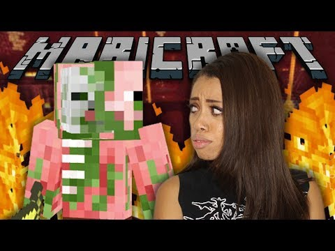 WE FOUND A HELL FORTRESS!! (MariCraft)